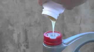 Масло NISSAN 5w40 после морозилки -24