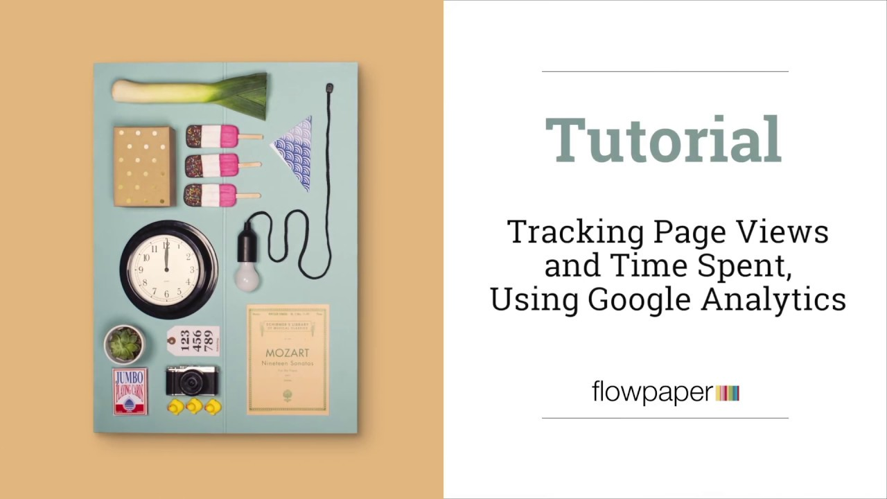How to track page views in PDF documents for page flip