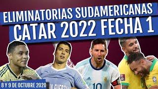 RESUMEN Eliminatorias Sudamericanas Rumbo a Catar 2022 FECHA 1