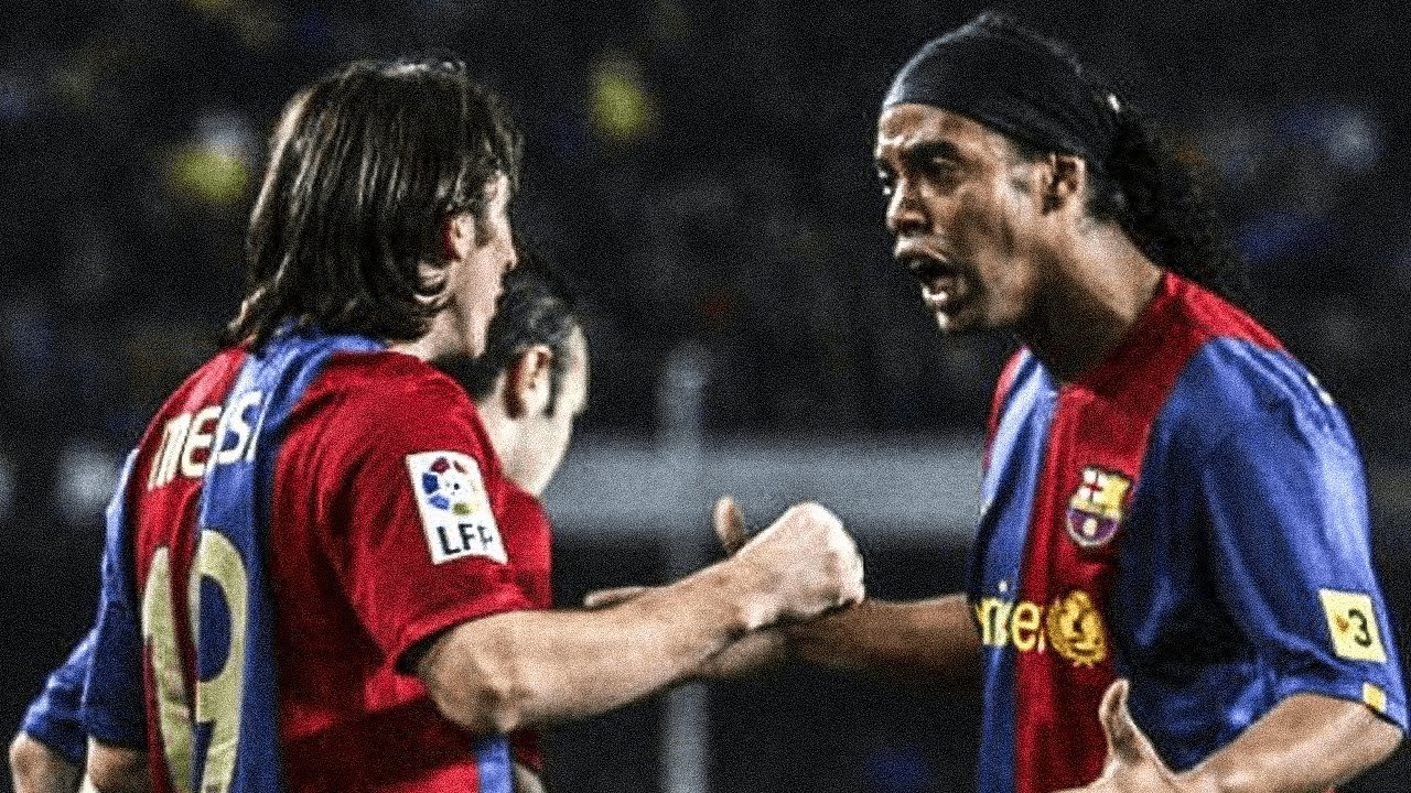 The Real Reason Ronaldinho Left Barcelona Oh My Goal Youtube