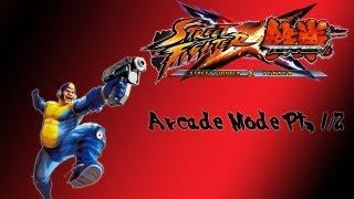 Street Fighter X Tekken Arcade Mode (Mega Man Pt. 1/2)
