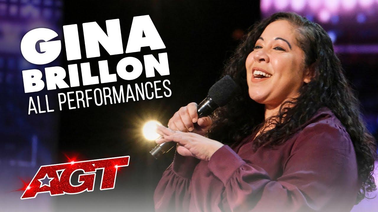 Gina Brillon | ALL Performances | America's Got Talent 2021