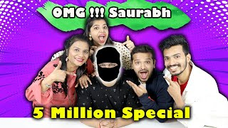 Sourabh Face Reveal Challenge  | End Of Hungry Birds | New Channel Announcement | 5 Million Special