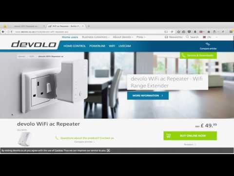 devolo ac repeater wifi booster extender setup settings tutorial youtube. Black Bedroom Furniture Sets. Home Design Ideas