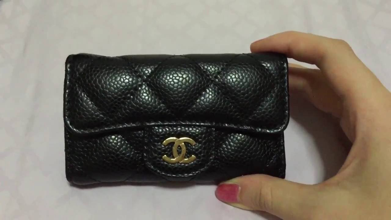 chanel key pouch. chanel key pouch d