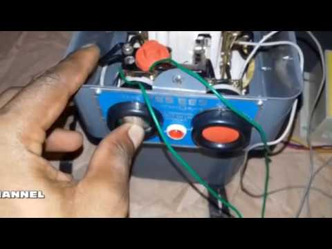 Single Phase Preventer Auto Switch Connection For 3 Phase Starter