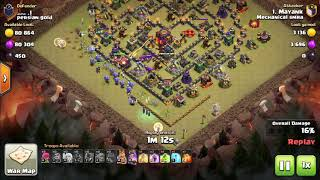 Clash of Clans Witch attack strategy TH10..