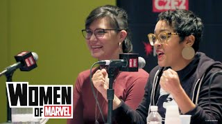 4 Female Creators' Advice on Breaking Into Comics Industry | Women of Marvel