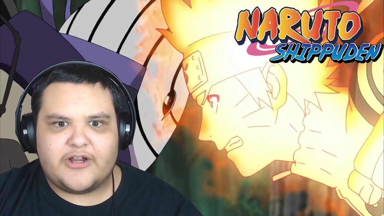 NARUTO VS TOBI! - Naruto Shippuden Episode 324 REACTION!