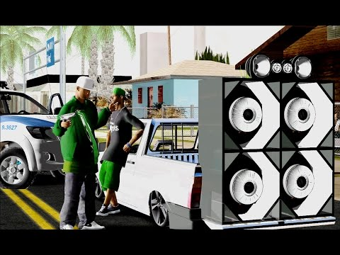 ♠ Gta Modificado ♠ Saveiro Quadrada Com Paredão ♠ Gravera ♠