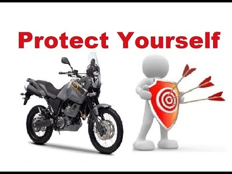 Top 10 Tips How to Protect yourself and avoid problems on a Long Motorcycle Trip