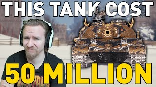 THIS TANK COST 50 MILLION in World of Tanks!