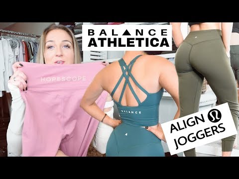 NEW and Noteworthy Gym Clothes! Align Joggers, Balance Athletica, XXIV, and more