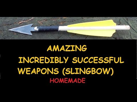 AMAZING !!!  INCREDIBLY SUCCESSFUL WEAPONS (SLINGBOW)