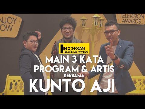 Cover Lagu Main 3 Kata Program & Artis Bersama Kunto Aji