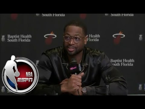 Dwyane Wade on his return to the Miami Heat: 'The crowd was amazing'   ESPN