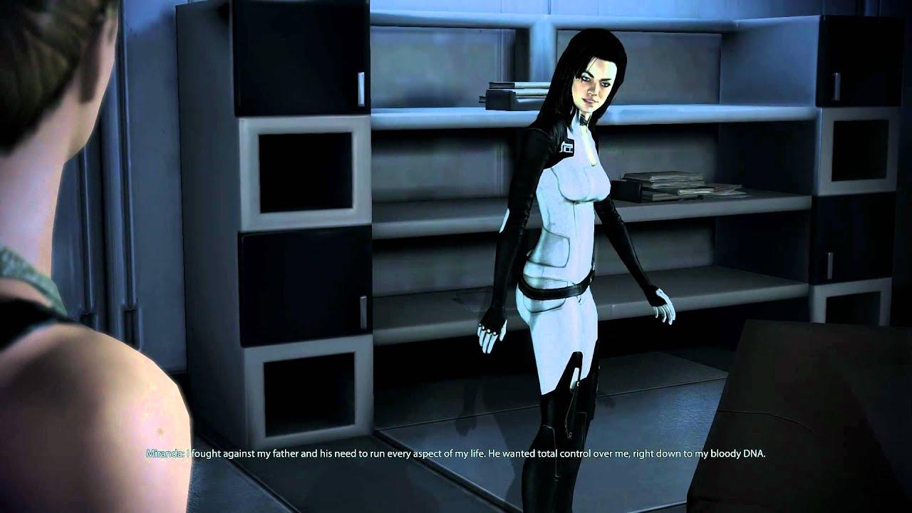 Mass Effect 3 - Miranda Lawson (Yvonne Strahovski ) - YouTube