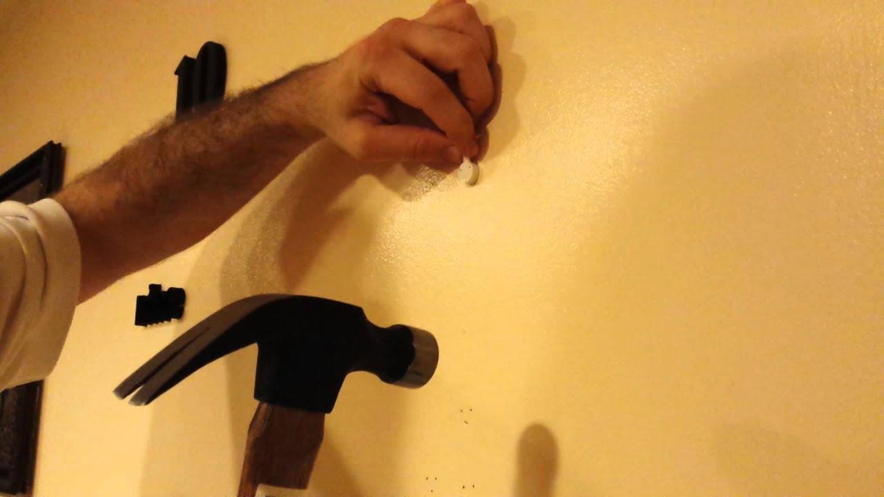 Chinatera DIY Wall Clock - Hook installation - YouTube