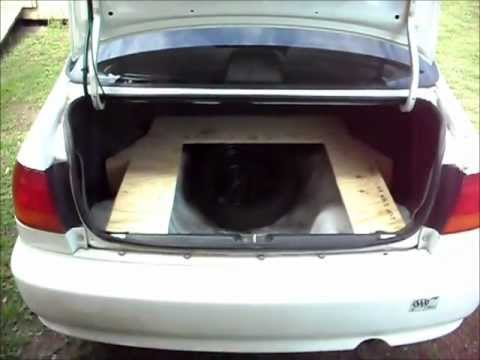 How To Make A Custom 98 Civic Trunk Mat Pt 1 Youtube