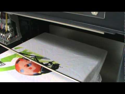 Impression numérique sur textile