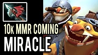 Miracle-  MOST INTENSE GAME! Road to 10k MMR Patch 7.01 Dota 2