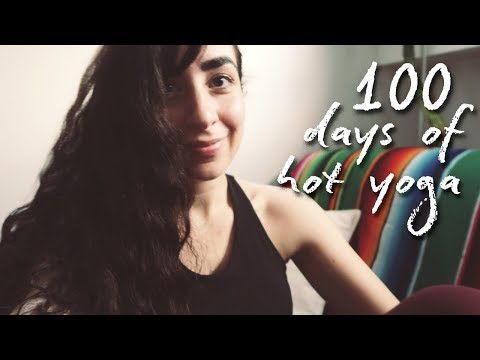 100 days of hot yoga🧘🏻♀️My experience, favourite yoga clothes & poses! thumbnail