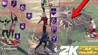 *MUST WATCH* THIS NEW DEMIGOD BUILD IS COMPLETELY BROKEN AND WILL BREAK NBA 2K20!