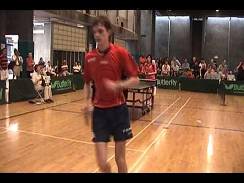 Sara Shu Fu vs. Stefan Feth - San Diego Semifinal - Ping Pong Match