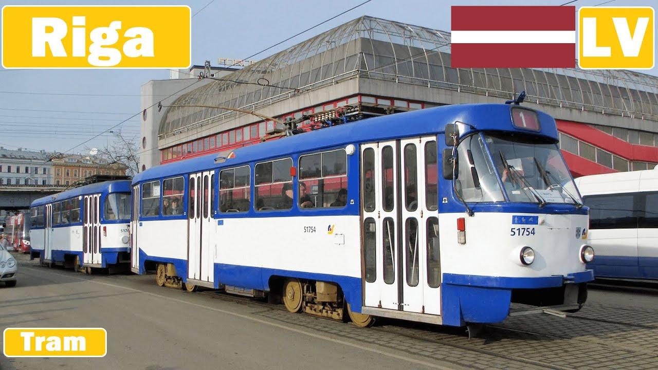 Latvia/Lettland , Rigas Straßenbahnen 2017