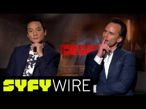 The Tomb Raider Cast Attempts To Solve Puzzles and Riddles | SYFY WIRE