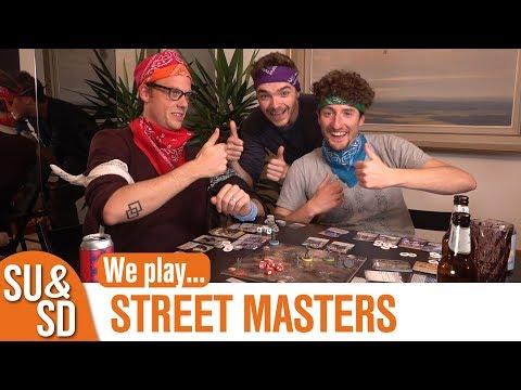 Street Masters - Shut Up & Sit Down Playthrough!