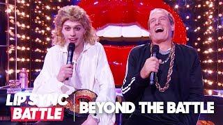 Michael Bolton & Pete Davidson of SNL Go Beyond the Battle   Lip Sync Battle