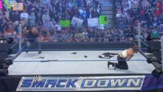 WWE SmackDown 4/2/10 - Jack Swagger Wins The World Heavyweight Champion (HQ)