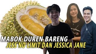 PESTA DURIAN BARENG BOS BAIM ... JESS NO LIMIT NGASIH SURPRISE DATANGIN JESSICA JANE ...