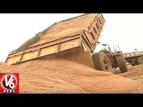 High Cost Of Sand Hit Construction Activity In Khammam District | V6 News