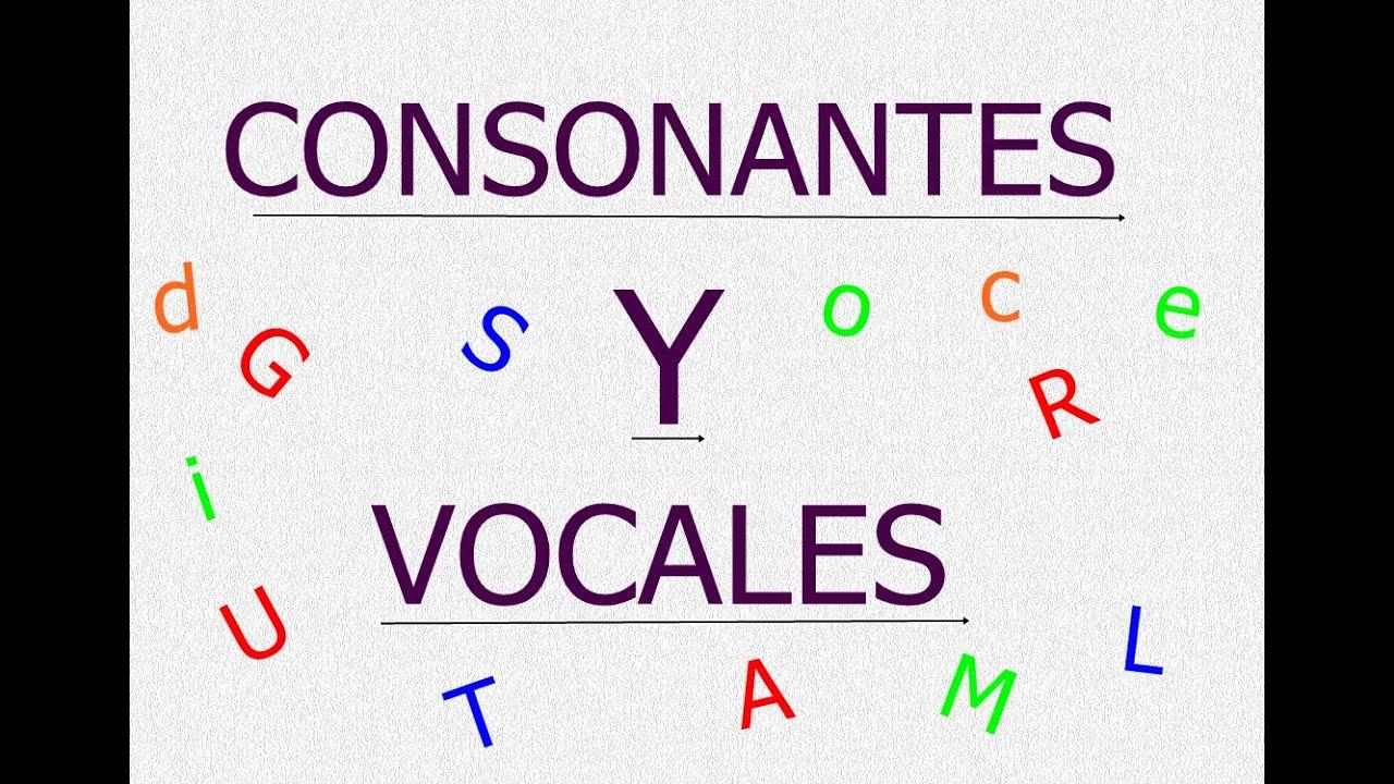 Resultado de imagen para las consonantes