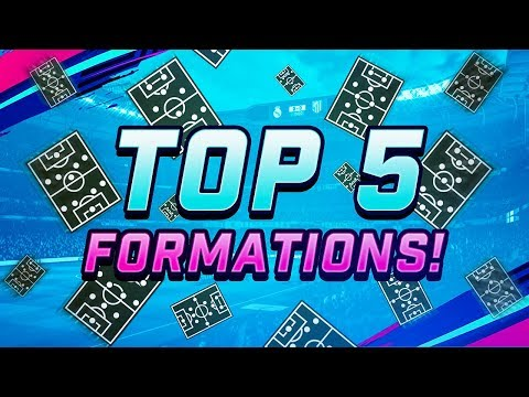 TOP 5 FORMATIONS IN FIFA 19 – FORMATION GUIDE, INSTRUCTIONS & CUSTOM TACTICS thumbnail