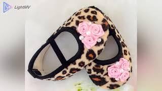 Luxury baby girls christening baptism shoes handmade in UK