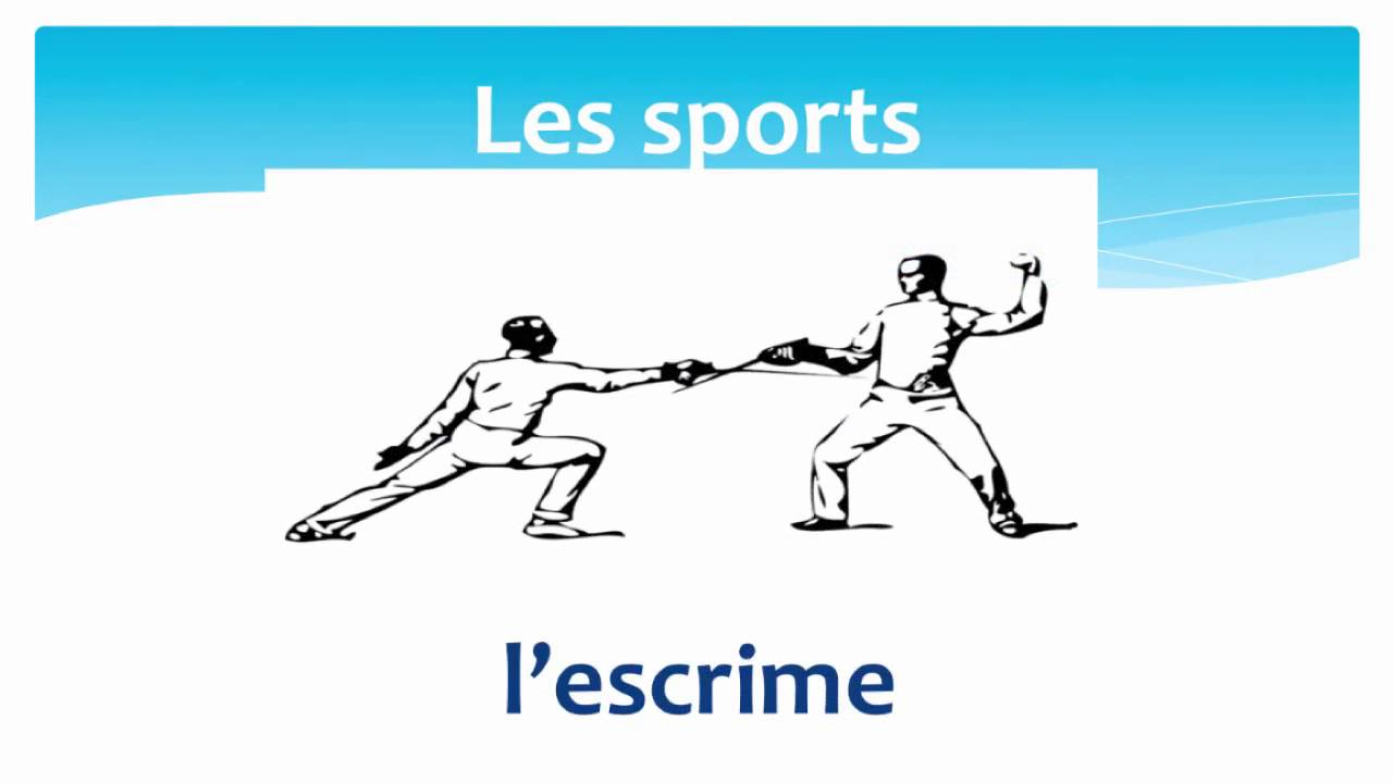sports in french les sports en fran ais youtube. Black Bedroom Furniture Sets. Home Design Ideas