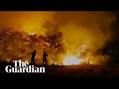 Gran Canaria wildfire forces thousands to evacuate