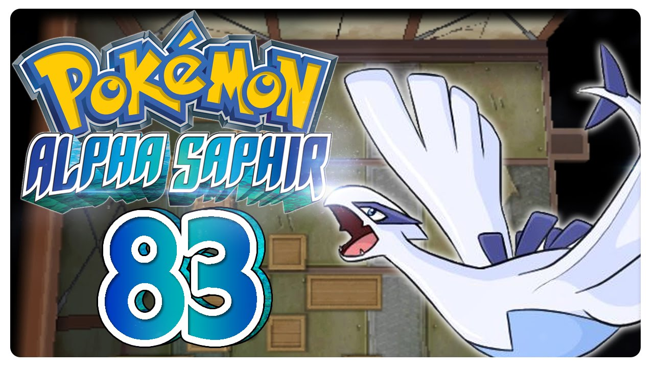 how to get shadow lugia in pokemon alpha sapphire