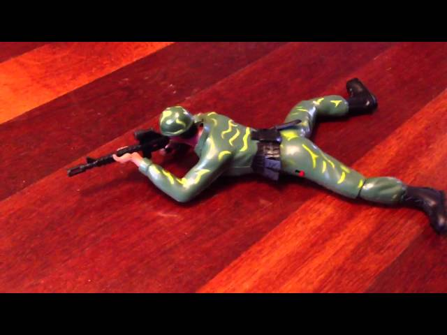 Electronic Crawling Soldier Toy