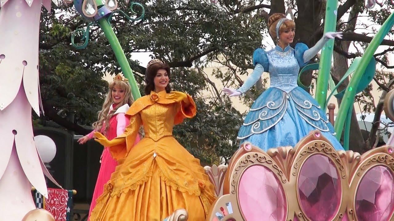 tdl 「ディズニープリンセスinハピネスイズヒア」disney's princess in