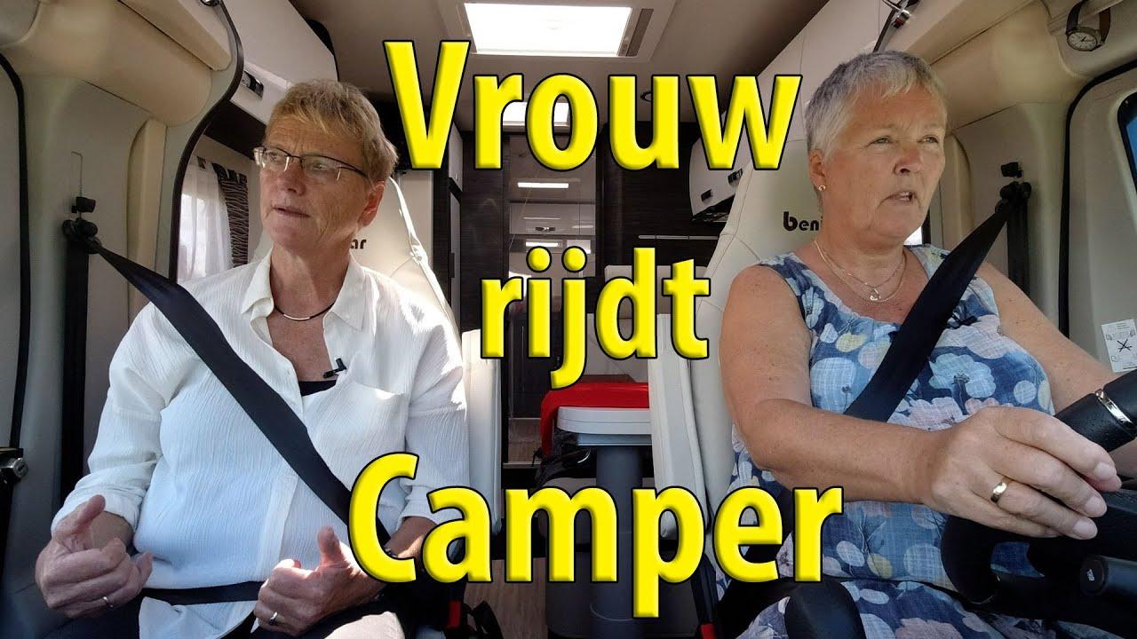 Rijles met Wilma Veltkamp van CAMPER TV