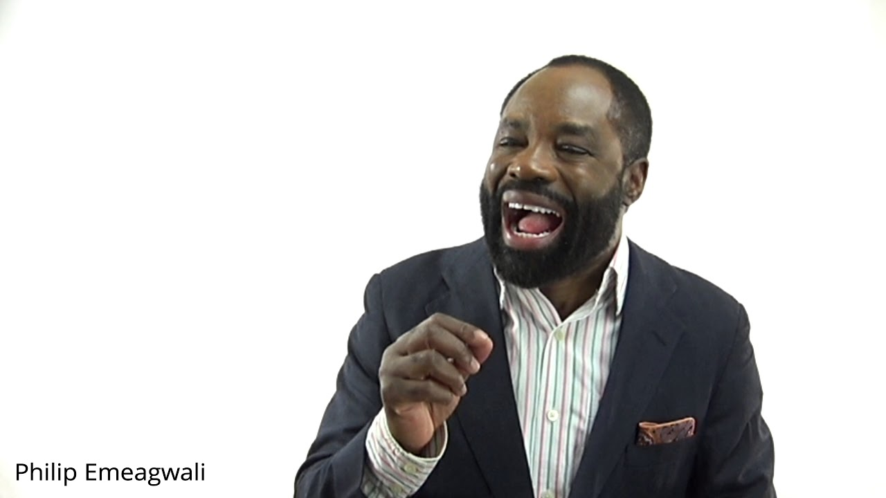 Philip Emeagwali A Father Of The Internet How I Invented A New Internet Famous Inventors Alive Youtube