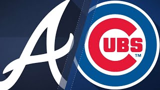 Bryant leads Cubs to 5-2 victory over Braves: 8/31/17