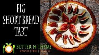 Fig Shortbread Tart  Le Cordon Bleu Recipe