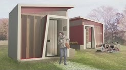 San Jose Considers Building Tiny Cabins To House The Homeless