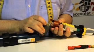 Remplacement du Condensateur dans un moteur Somfy