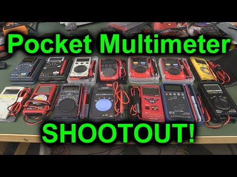 EEVblog #1083 - Pocket Mutimeter Shootout